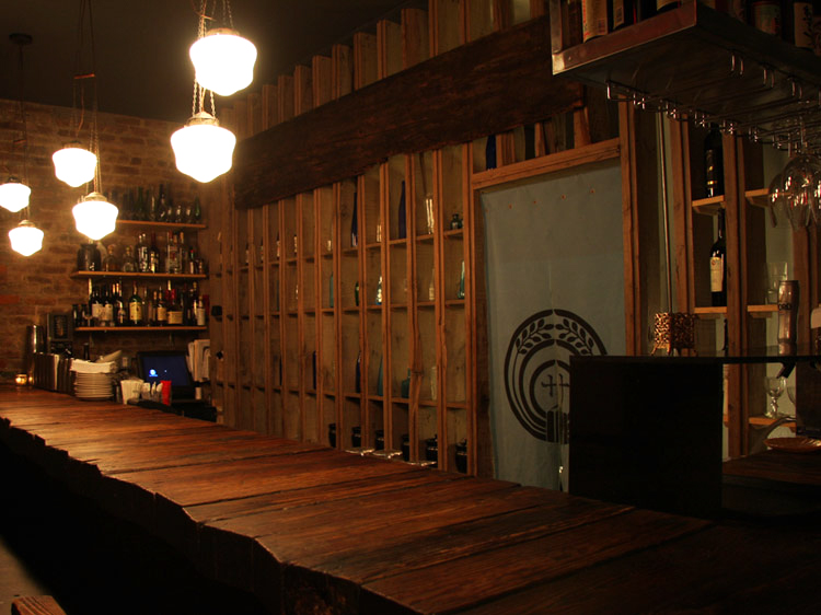 Bar Counter of Samurai Mama, Japanese Izakaya style restaurant in Brooklyn