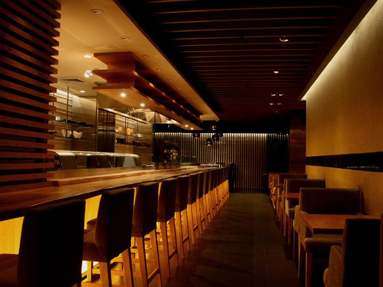 Mr.Robata Restaurant Bar and tables