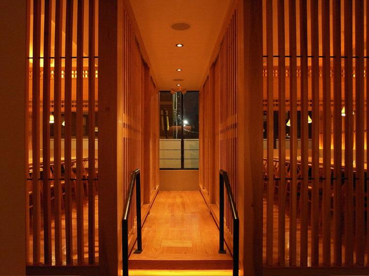 Gyu-Kaku Boston Interior