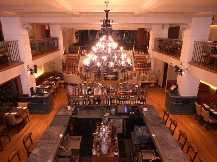Prime Grill Kosher Restaurant Steak house Interior