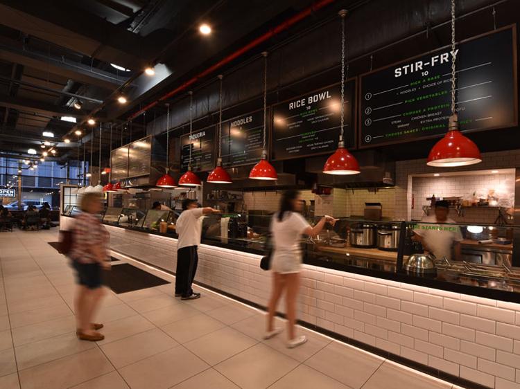 Open Kitchen 123 William interior