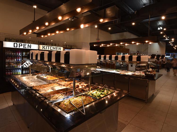 Open Kitchen 123 William  salad bar