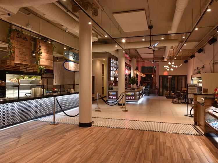 Union Fare Gastrohall Interior