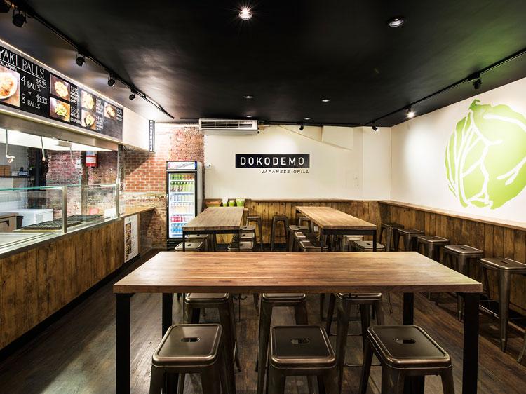Dokodemo restaurant Interior