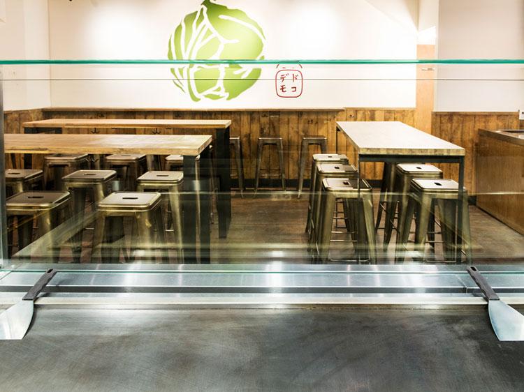 Dokodemo restaurant Interior Teppan