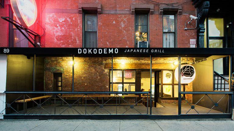 Dokodemo restaurant Exterior