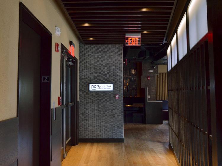 Gyu-kaku Harvard Square hall Interior 牛角 内装 外装