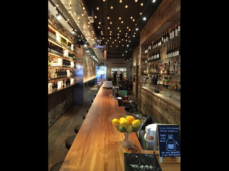 Yakiniku Futago NY interior Bar 焼肉 ふたご ニューヨーク 内装 工事