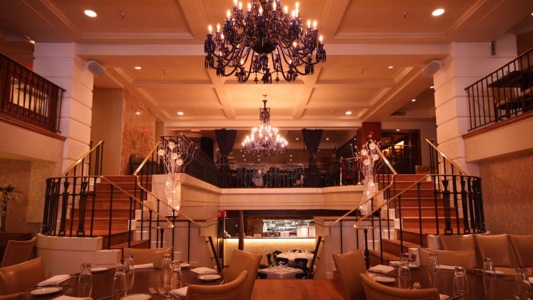 Prime Grill Kosher Restaurant Steak house Interior