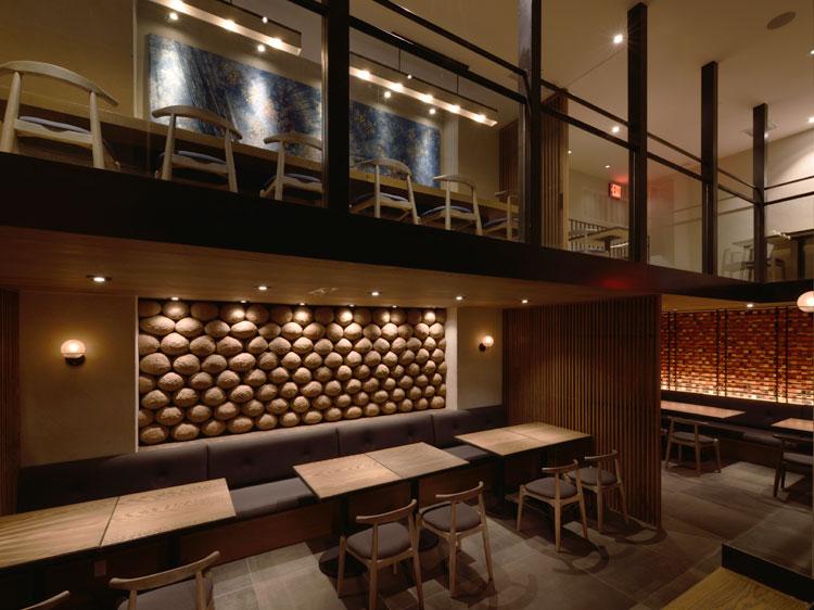 Tsuru Ton Tan NY Interior design つるとんたん ニューヨーク 内装 工事