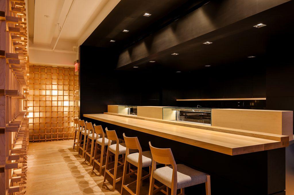 Madison Park Sushi bar